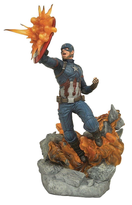 DIAMOND SELECT Captain America Civil War Marvel Milestones Statue 41 cm