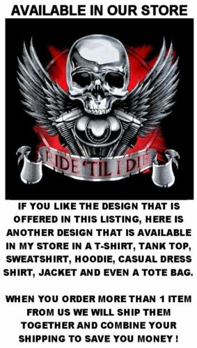 LIVE TO RIDE RIDE TO LIVE V-TWIN WITH EAGLE MOTORCYCLE RIDER TANK TOP SHIRT X56