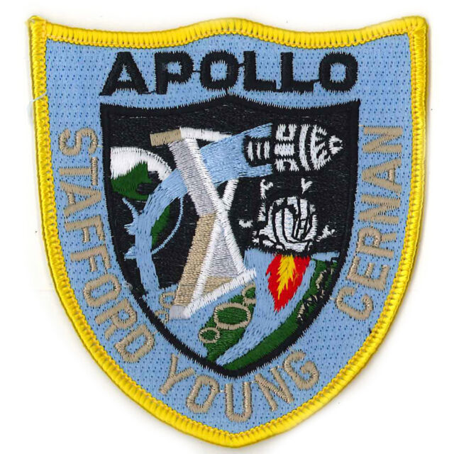 Patches Patches Application 8 x 8,5 cm Space 24 Apollo 00651