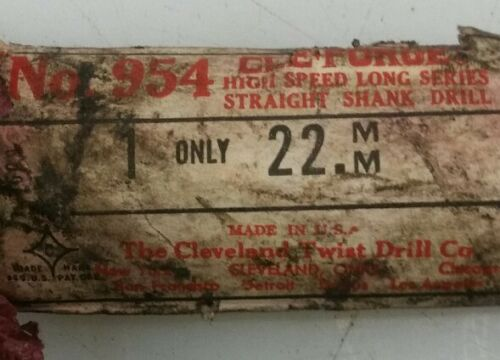 """***NEW***CLE-FORGE # 954 22MM 10-1//4 /"""" LONG × 7//8/"""" SHANK DIA."""