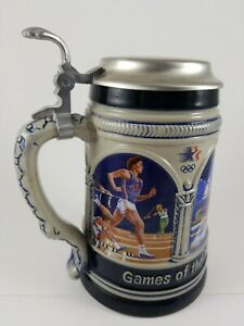 Collectible 1984 Olympics Los Angeles USA Beer Stine