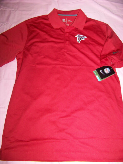 official photos f0c71 7fc34 Nike DriFit Men's on Field Apparel Atlanta Falcons Polo Shirt Small