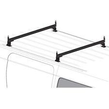 2 Bar Black Aluminum Ladder Roof Rack System AMZ-145 Fits: Chevy City Express
