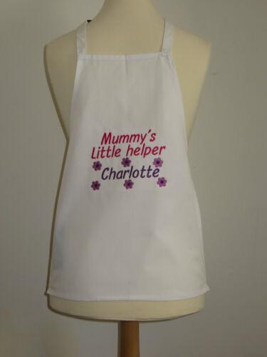 Mummy/'s Little Helper Personalised Kids Apron