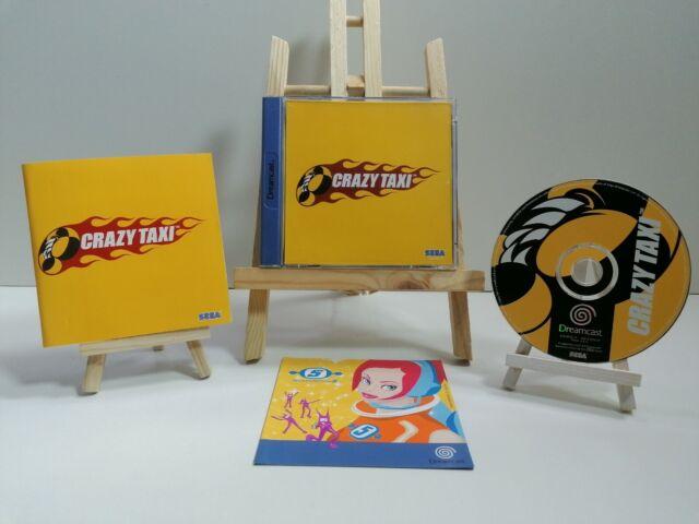 Sega Dreamcast Juego Crazy Taxi En Paquete Original con Manual como Nuevo Top