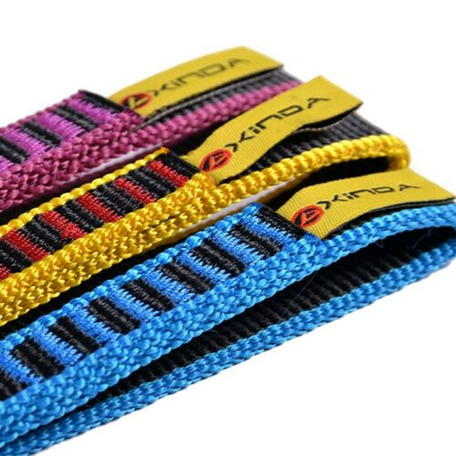 22KN Belt Webbing Strap Rock Climbing Safety Sling Rescue Rope Outdoor