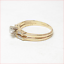 thumbnail 4 - Harold Freeman 14K Gold Brilliant Cut Diamond Estate Engagement Wedding Ring