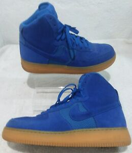 Details about NIKE AIR FORCE 1 HIGH 07 LV8, HYPER COBALT BLUE, 806403 400, Men's Size 10.5