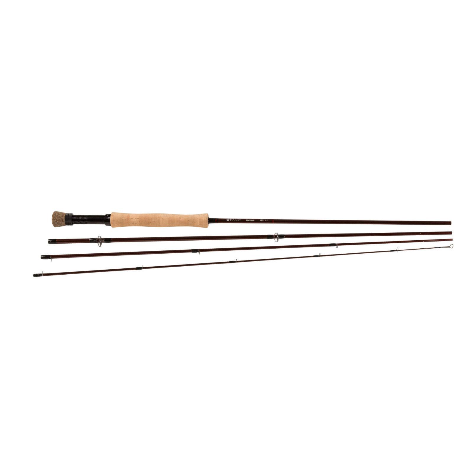 Hardy Shadow Fly Fishing Rod Sintrix 220 Medium-Fast Action - - - Cork Handle 0e3f8b