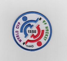"""1996 WORLD CUP OF HOCKEY PATCH TEAM USA  CANADA 3"""" IN DIAMETER"""