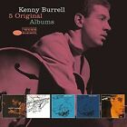 5 Original Albums Kenny Burrell Audio CD