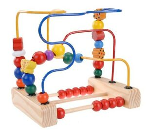 First Bead Maze First Bead Maze Wood For Toddlers Educational Toy Kid Gift