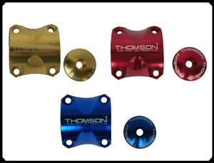 blau gold rot Lenkerklemmung Kit für Thomson Vorbau Elite X4 MTB 31,8mm