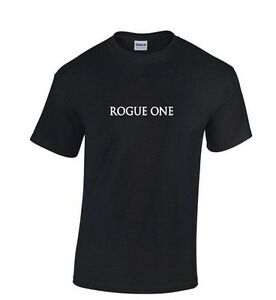 ROGUE-ONE-STAR-WARS-T-SHIRT-Red-Black-or-White-S-2XL