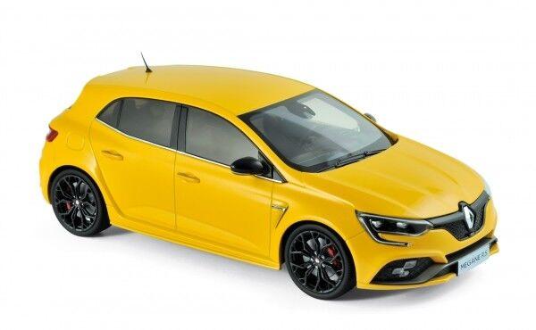 NOREV 185226 RENAULT MEGANE R.S. 2017 Sirius YELLOW 1:18 modello di auto