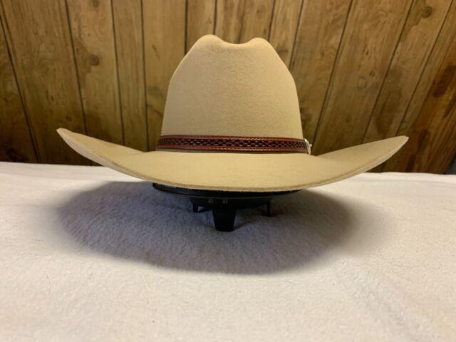 STETSON MARSHALL 4X WOOL FELT COWBOY WESTERN HAT