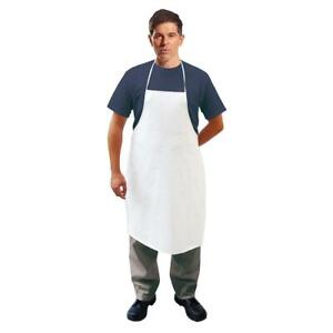 Portwest white PP/PE 60g microporous disposable Type PB/6 apron (pack 300) #ST42