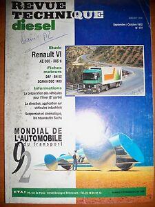 Renault Vi Ae380 385ti - Revue Technique Diesel