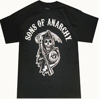 Official Sons Of Anarchy Reaper Logo T-shirt - Samcro Jax Teller Outlaw Charming