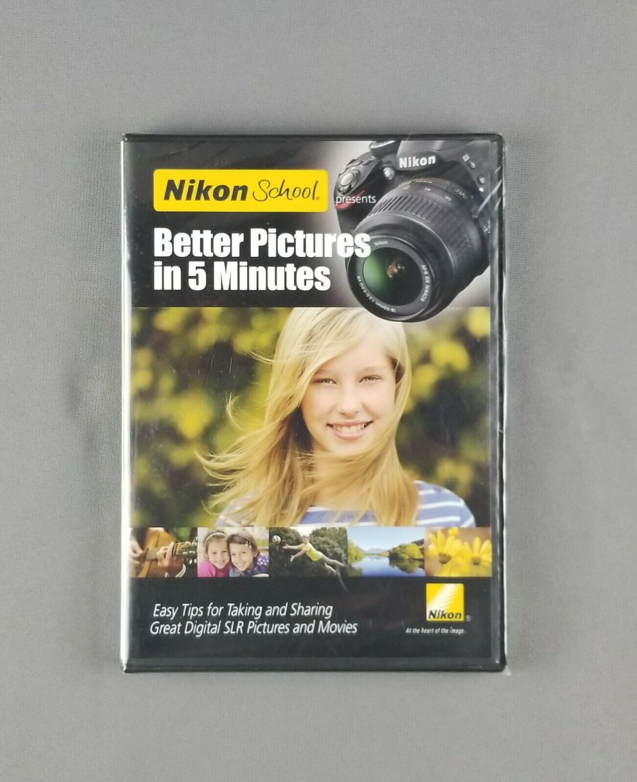 Nikon School: Better Pictures in 5 Minutes (DVD, 2012) Photography Tips 2