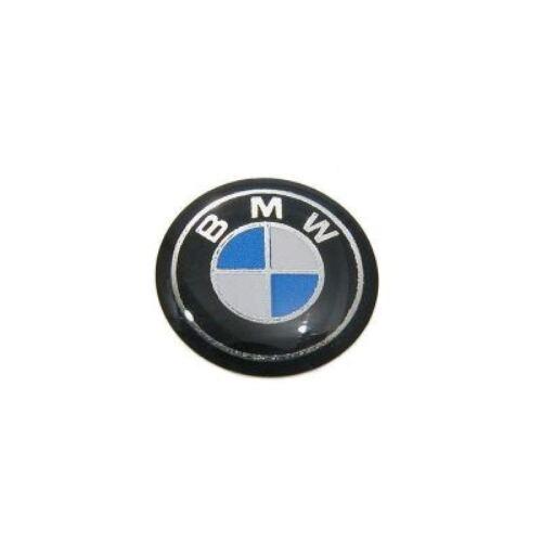 BMW Emblem 12mm Plakette für Schlüssel Fernbedienung E46 ab 09//99