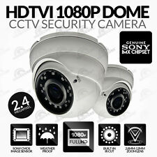 HDTVI 1080P CCTV Dome Camera TVI (IR Night Vision 30M) Varifocal Lens 2.8mm-12mm