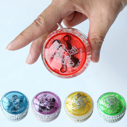 1pc LED Flashing Yoyo Ball Hand-Eye Coordination Development Toy Children Kids