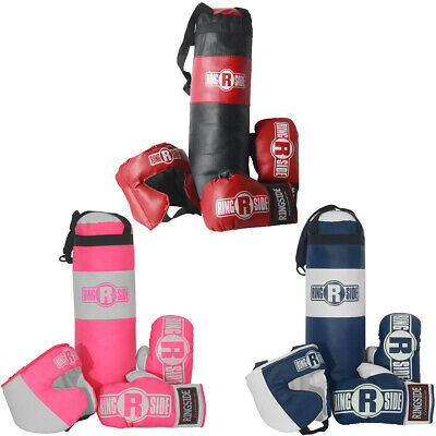 Ringside Kids Boxing Set with Mini Heavy Bag, Gloves and Headgear (2-5 year  old) | eBay