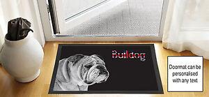 61cm-x-40-6cm-Bulldog-Union-Jack-NOIR-brouillon-DESSIN-Porte-d-039-entree