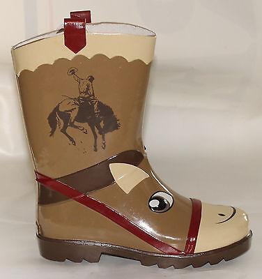 Ranger Storm Pony Design Childs Welly Marrone O Viola-mostra Il Titolo Originale