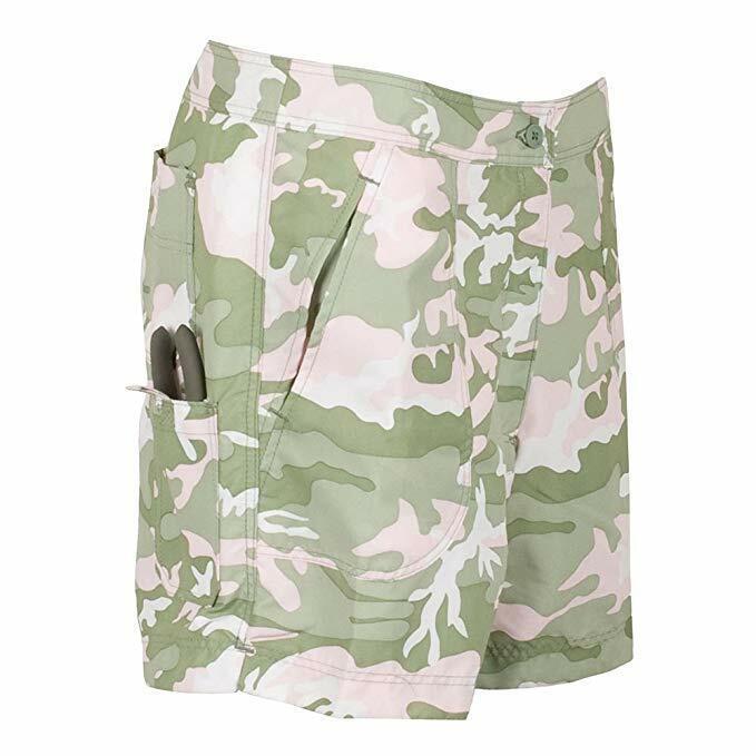 Guy Harvey Ladies  Fishing Short, color  Pink Camo Lh34005-Pcam  retail stores