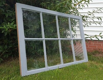 VINTAGE SASH ANTIQUE WOOD WINDOW PICTURE FRAME PINTEREST WEDDING 6 PANE 36X28