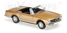 Minichamps 940032230 - MERCEDES  BENZ 230SL - 1965 - GOLD METALLIC  1/43