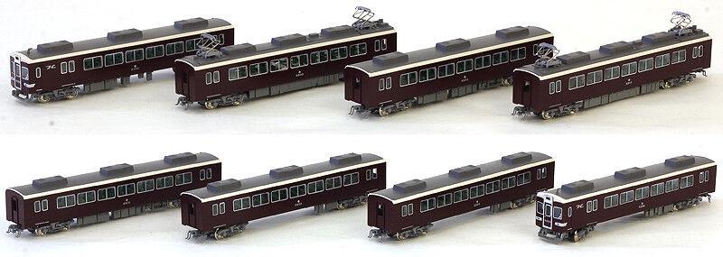 Kato 10-1243 Hankyu FerroCocheril Serie 6300 Conjunto de coches viejos Logo 8 Escala N