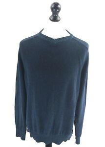 Gelernt Fat Face Mens Jumper Sweater M Medium Navy Blue Cotton Zu Verkaufen