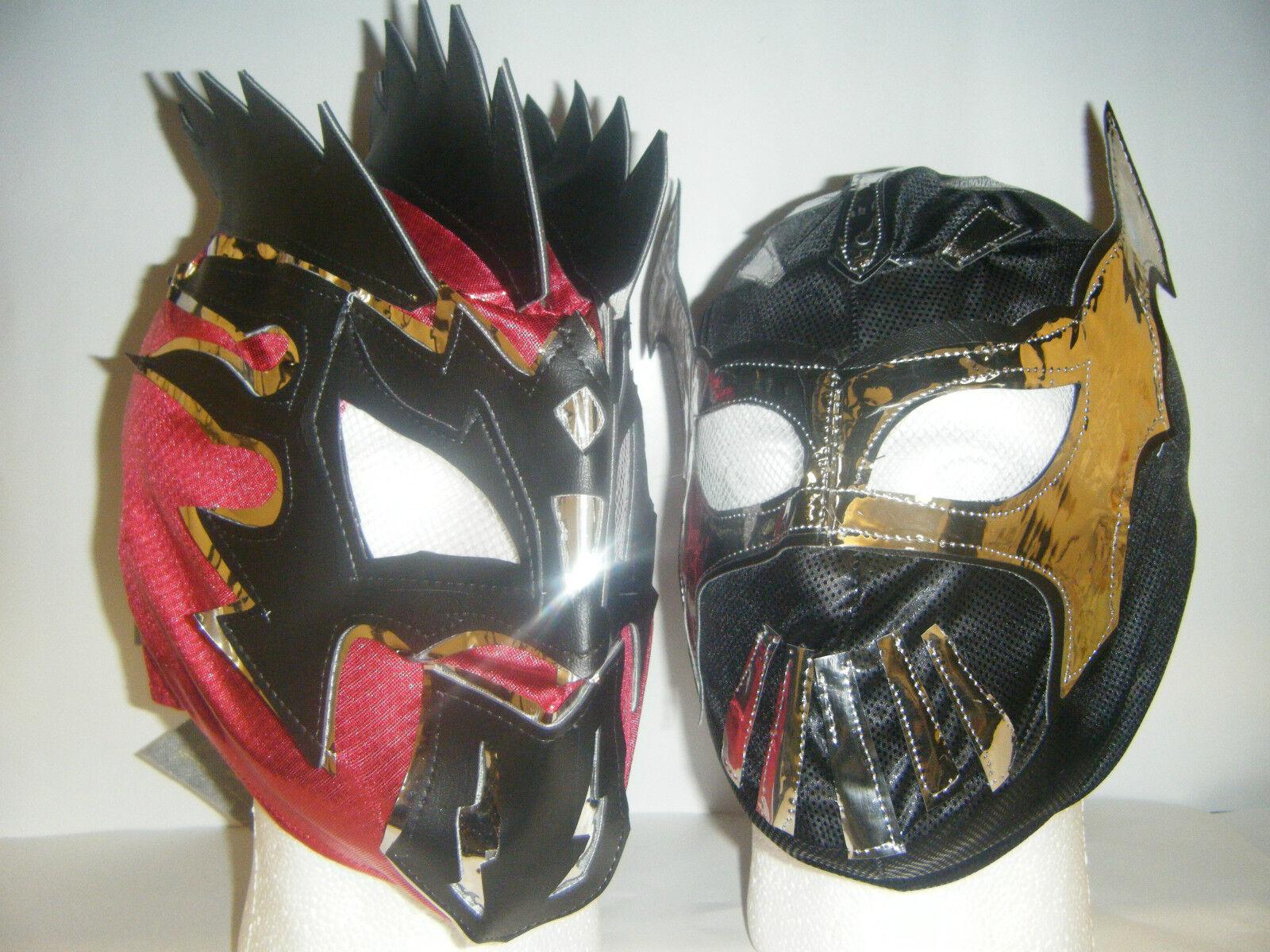 Sin Cara & Kalisto Enfants Masque de Catcheur Costume Déguisement Lucha Dragons