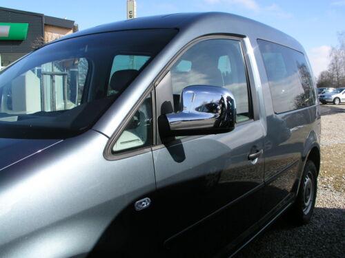2004-/> SPIEGELKAPPEN VERKLEIDUNG IN CHROM FÜR VW CADDY ca