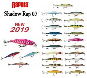 Neu-Rapala-Schatten-Rap-Fischen-Koeder-7cm-5g-Jerkbait-Aktion-Predator-Koederfisch