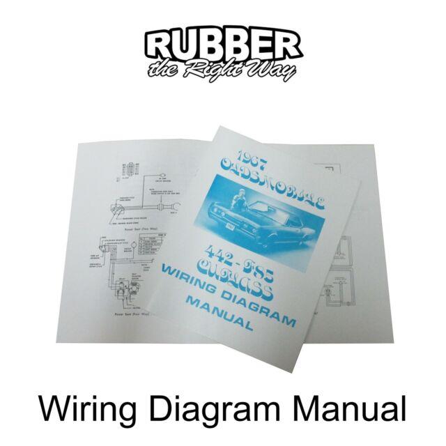 1967 Oldsmobile Wiring Diagram Manual | eBay