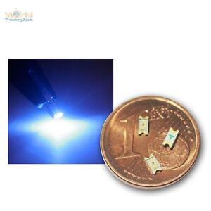 20-SMD-LEDs-1206-bleu-Blaue-SMDs-bleu-azur-SMT-Mini-LED-BLEU