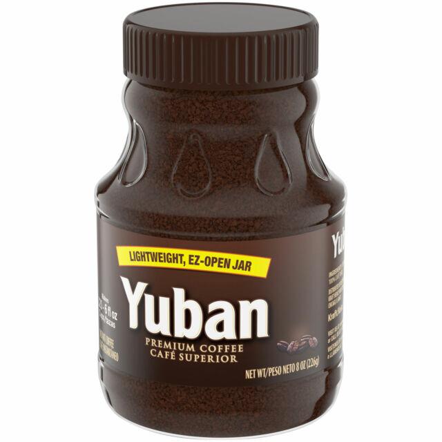 Yuban Premium Coffee Cafe Superior Instant Coffee 8 Oz Ebay