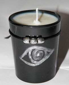 Details about @sshole Repellent© Hand Made Spell Soy Candle Ritual  Banishing Binding Spell