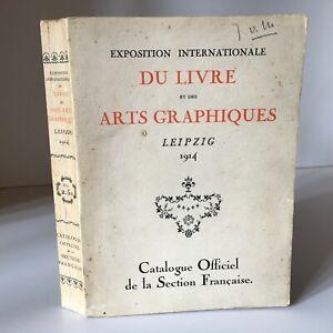 Esposizione Internazionale Del Libro E Delle Arte Lipsia 1914 Catalogue