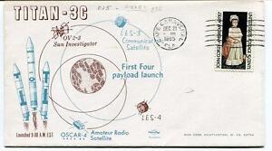 1965 Titan - 3c Ov 2-3 Sun Investigator Les-3 Communications Les-4 First Sat