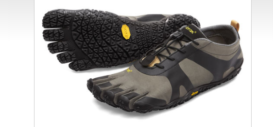 Vibram Fivefingers V-Alpha Grey Black Men's sizes 39-49 NEW