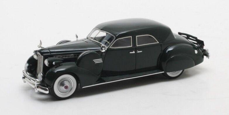 Matrix max51601-011 - packard super 8 sport sedan darrin green - 1940 1 43