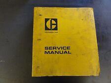 Caterpillar 910 Wheel Loader Service Manual 80u