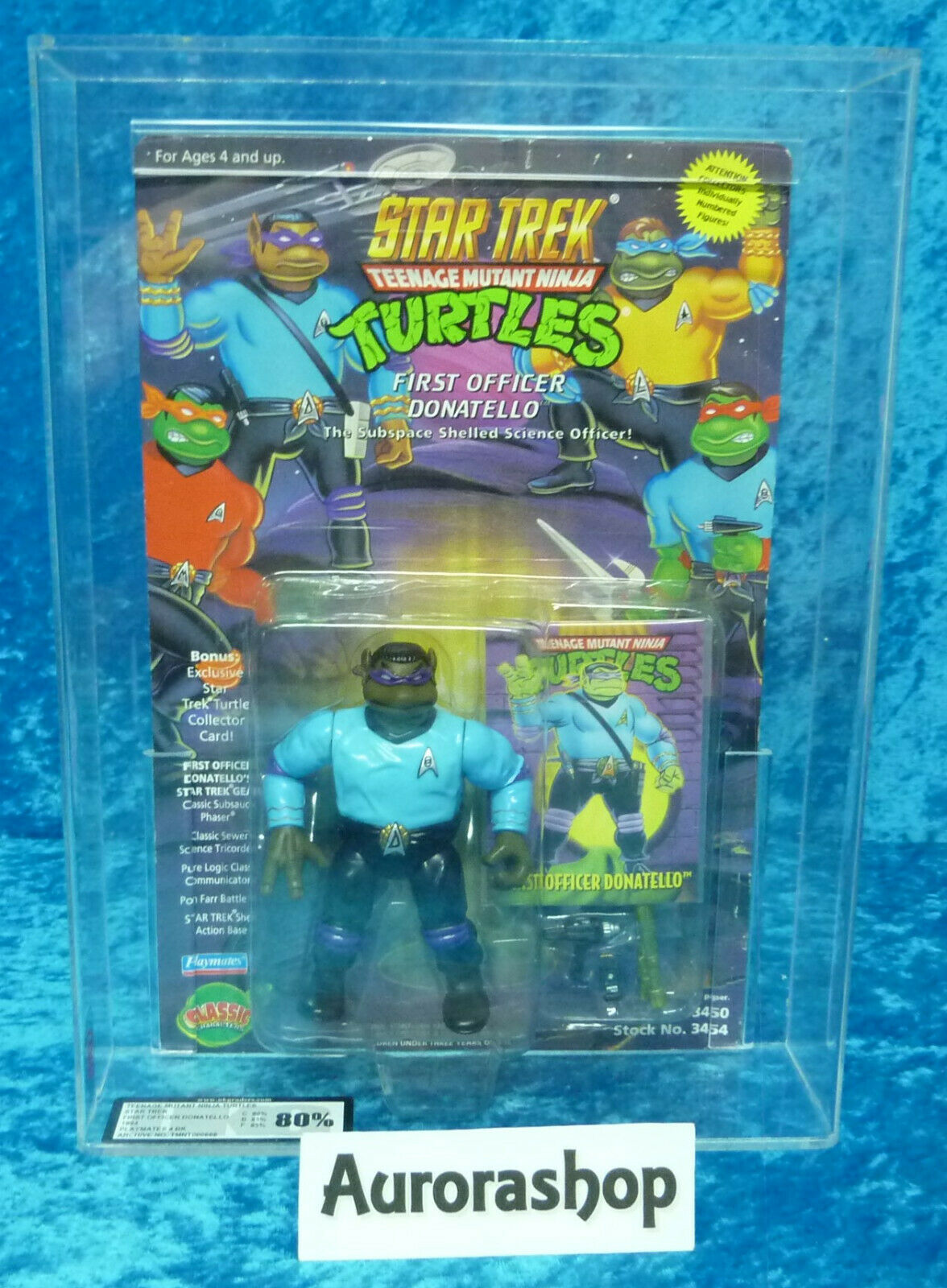 colores increíbles Estrella Trek Teenage Mutant Ninja Turtles first Officer Officer Officer Donatello AFA 80 Jugarmates  tienda en linea