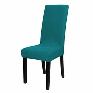 uxcell Knit Spandex Stretch Fit Dining Room Chair Cover ...
