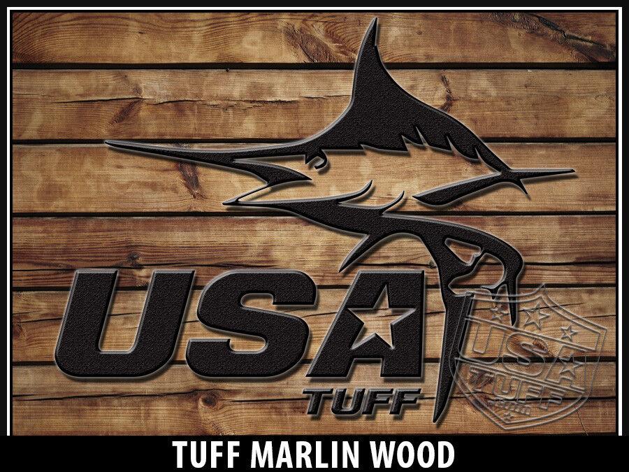 USATuff Cooler Niedriger Wrap 'Fits New Mold' RTIC 65QT Full Niedriger Cooler Marlin Wood WD 3efbd3